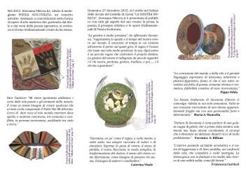 brochur castello retro pieghevole